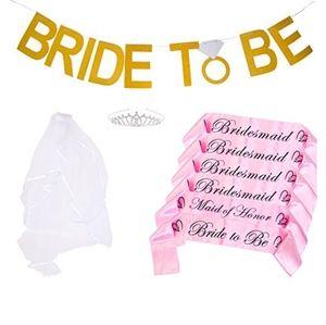 Bachelorette Party Sash Kit